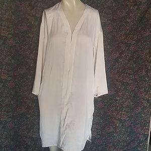 H&M v neck tunic dress